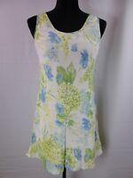 Express Rayon Lined Floral Print Sleeveless Short Dress Women's Size 5/6