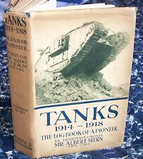More details for tanks 1914-18,the log book of a pioneer,1919.hardback,d/j