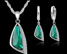 Jewelry Sets 925 Sterling Silver Cubic Zirconia Fashion Jewelry Necklace Pendant