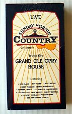 Sunday Mornin' Country Vol 2 ~ New VHS ~ Live Grand Ole Opry Music Movie Video