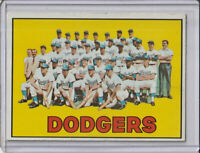 Los Angeles Dodgers 1967 Topps Baseball Team Card #503 (D)