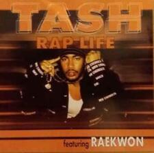 Tash Rap Life PROMO w/ Artwork MUSIC AUDIO CD Raekwon Clean Money Radio CSK42870