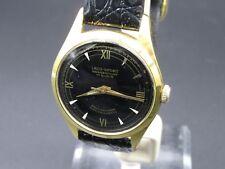 "L570 ⭐⭐Vintage "" Laco - Sport "" VW Anniversary Watch Hand Wound Leather Wrist"