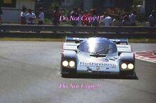 Derek Bell & Hans Stuck Rothmans Porsche 962C Le Mans 1985 Photograph