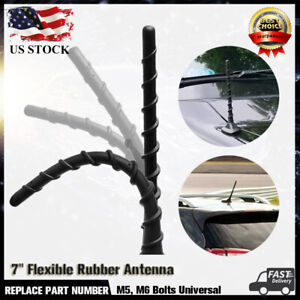"""7"""" Rubber Radio Signal Antenna  For Dodge Journey Jeep Cherokee Ford F150 F250"""