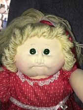 """Vintage 23"""" CPK Cabbage Patch Girl Doll LITTLE PEOPLE Soft Sculpture Softy"""