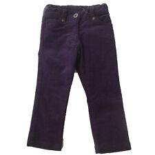 Pantalones pana niña de Losan , morado ,talla 2