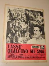 PAUL NEWMAN LASSU QUALCUNO MI AMA FILM=ANNI '50=PUBBLICITA=ADVERTISING=536