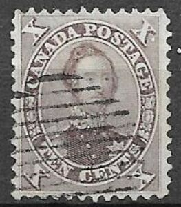 Canada 1859 10c Prince Albert Scott 17 super nice great centered stamp see scans