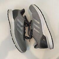 Adidas Men's Size 9.5 Tennis Shoes Gray Cloudfoam
