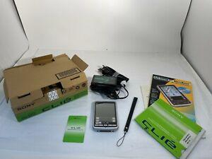 Sony PEG-SJ22 Personal entertainment Organizer w/ Charger, CD, Manual,Pen, JAPAN