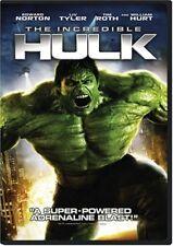 The Incredible Hulk (Dvd, 2008 Widescreen Edward Norton, Liv Tyler Marvel Movie