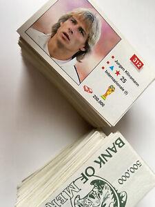 Merlin World Cup Italy - Italia 1990 unused album stickers - Choose from list