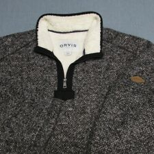 ORVIS FLEECE LINED HEAVY POLY  1/4 ZIP PULLOVER-2XL-EXCEPTIONAL SPOTLESS QUALITY