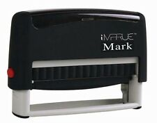 Custom 1 Or 2 Line Long Text Self Inking Rubber Stamp For Office Use 9016