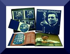 Waylon Jennings , The Journey , Six Strings Away  ( Box 6 CD + Booklet )