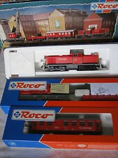 Digital ROCO HO 43147 DIESEL Lok BAUZUG BR 290 125-4 DB Cargo (rg/bo/138s9/4)
