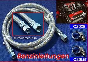 Stahlflex Benzinleitung Opel C20XE C20LET Astra Calibra Vectra Kadett Corsa A B