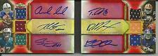 2012 TRIPLE THREADS LUCK RG3 GRIFFIN TANNEHILL 6 AUTO JERSEY 9/27 AUTOGRAPH