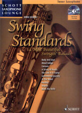 Schott Saxophone Lounge Swing Standards Tenor Play-Along Noten CD Dirko Juchem