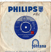 """The Mindbenders - Can't Live With You 7"""" Single 1966"""