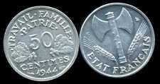 50 centimes BAZOR 1944 C   SUP