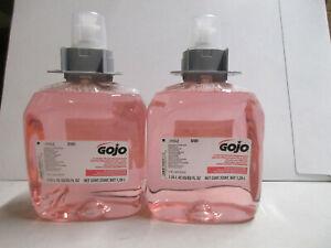 (2 Bottles) GOJO Luxury Foam Handwash Soap 1250ml Refills, 5161 EXP 11/2022