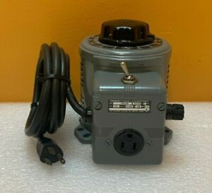 Superior Electric Powerstat 3PN116B Variable Auto Transformer, Load Tested!
