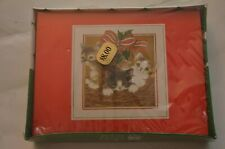 Vintage Christmas Kittens Holiday Greeting Cards Plus Mark (18 Cards & Envelopes