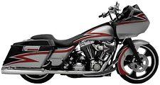 Supertrapp Kerker 4 Slip On Mufflers Exhaust 1995-2009 Harley Davidson Touring