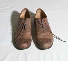 Geox Respira Acero F Shoes Brown Oiled Leather Oxfords  U13L9F: Men's Sz 13 Med