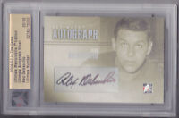 06-07 ITG Alex Delvecchio /50 Auto Autograph Ultimate Red Wings 2006
