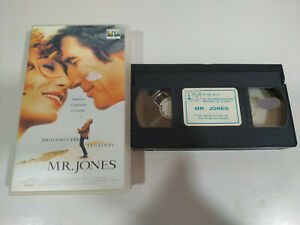 Mr. Jones Richard Gere Lena Olin - VHS Film Tape Anglais - 3T