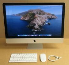 "Apple iMac18,3 Retina 5K 27"" i7-7700K 4.2Ghz 16GB 500GB SSD A1419 Catalina OS"