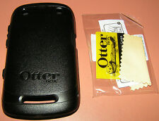 OtterBox Commuter Case BlackBerry Curve 9350/9360/9370, Black w screen prtc. NEW