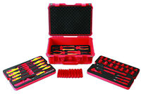 50pce 1000v Certified Hybrid Electric Vehicle Technician Tool Kit in Case