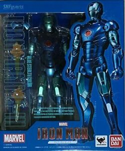 Bandai S.H.Figuarts Iron Man Mark 3 Blue Stealth Color Japan Import Gift