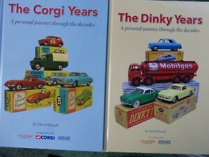 THE DINKY YEARS AND THE CORGI YEARS BOOKS BY DAVID BOXALL