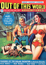 Out Of This World Adventures #2 Photocopy Comic Book