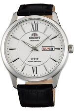 Orient Classic 3 Star Reloj Hombre Automático 43mm Día Fecha FAB0B003W9 Pulsera