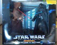 STAR WARS Obi-Wan Kenobi VS. Darth Vader ELECTRONIC POWER F/X Collector Series