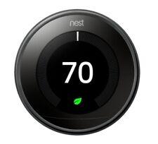 Google Nest Learning Smart Thermostat - 3rd Generation - Black
