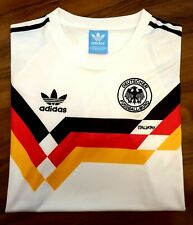 WEST GERMANY 1990 Retro Football Shirt LARGE *READ* Classic World Cup 90