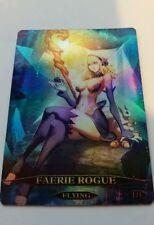 FOIL Faerie Rogue token | MTG altered art foil custom token