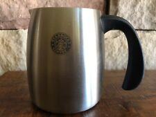 Starbucks Coffee Stainless Steel Creamer Pitcher Milk Frother Jug 16 oz 2006