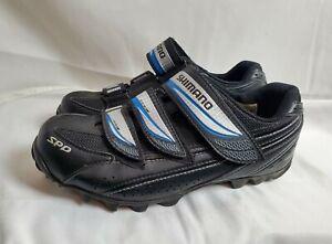 Shimano SH-WM51 Women's Cycling Shoes US 7.8 EUR 40 Black Leather Mountain MTB