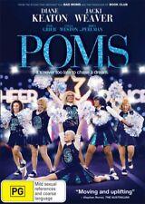 Poms DVD R4 Diane Keaton, Jacki Weaver