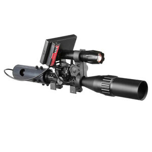 "4.3"" HD Screen Hunting Trap IR Scope 1080P FHD Camera, 850nm IR Torch Flashlight"