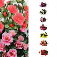 A Bunch Artificial Flowers Romantic Simulation Azalea Wedding Floral F8Y0 Y8R6
