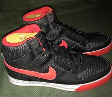 Rare Nike Delta Force High AC Black Red Basketball Sneakers Size US 11 Vintage
